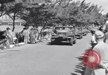 Image of Major General Henry C Pratt receiving Distinguished Service Medal San Juan Puerto Rico, 1943, second 4 stock footage video 65675030840