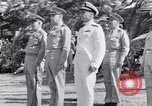 Image of Major General Henry C Pratt receiving Distinguished Service Medal San Juan Puerto Rico, 1943, second 17 stock footage video 65675030840