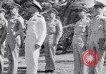 Image of Major General Henry C Pratt receiving Distinguished Service Medal San Juan Puerto Rico, 1943, second 19 stock footage video 65675030840