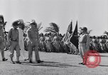 Image of Major General Henry C Pratt receiving Distinguished Service Medal San Juan Puerto Rico, 1943, second 20 stock footage video 65675030840
