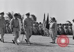 Image of Major General Henry C Pratt receiving Distinguished Service Medal San Juan Puerto Rico, 1943, second 21 stock footage video 65675030840