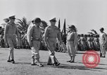 Image of Major General Henry C Pratt receiving Distinguished Service Medal San Juan Puerto Rico, 1943, second 22 stock footage video 65675030840