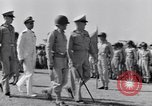 Image of Major General Henry C Pratt receiving Distinguished Service Medal San Juan Puerto Rico, 1943, second 25 stock footage video 65675030840