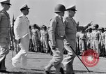 Image of Major General Henry C Pratt receiving Distinguished Service Medal San Juan Puerto Rico, 1943, second 27 stock footage video 65675030840