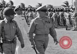 Image of Major General Henry C Pratt receiving Distinguished Service Medal San Juan Puerto Rico, 1943, second 28 stock footage video 65675030840