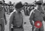Image of Major General Henry C Pratt receiving Distinguished Service Medal San Juan Puerto Rico, 1943, second 29 stock footage video 65675030840