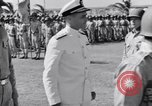 Image of Major General Henry C Pratt receiving Distinguished Service Medal San Juan Puerto Rico, 1943, second 31 stock footage video 65675030840