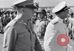 Image of Major General Henry C Pratt receiving Distinguished Service Medal San Juan Puerto Rico, 1943, second 32 stock footage video 65675030840