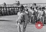 Image of Major General Henry C Pratt receiving Distinguished Service Medal San Juan Puerto Rico, 1943, second 33 stock footage video 65675030840
