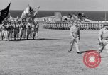Image of Major General Henry C Pratt receiving Distinguished Service Medal San Juan Puerto Rico, 1943, second 34 stock footage video 65675030840