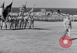 Image of Major General Henry C Pratt receiving Distinguished Service Medal San Juan Puerto Rico, 1943, second 35 stock footage video 65675030840