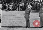 Image of Major General Henry C Pratt receiving Distinguished Service Medal San Juan Puerto Rico, 1943, second 38 stock footage video 65675030840