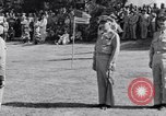 Image of Major General Henry C Pratt receiving Distinguished Service Medal San Juan Puerto Rico, 1943, second 39 stock footage video 65675030840