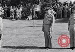 Image of Major General Henry C Pratt receiving Distinguished Service Medal San Juan Puerto Rico, 1943, second 40 stock footage video 65675030840