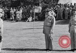 Image of Major General Henry C Pratt receiving Distinguished Service Medal San Juan Puerto Rico, 1943, second 41 stock footage video 65675030840