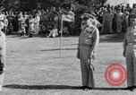 Image of Major General Henry C Pratt receiving Distinguished Service Medal San Juan Puerto Rico, 1943, second 42 stock footage video 65675030840