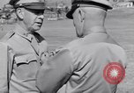Image of Major General Henry C Pratt receiving Distinguished Service Medal San Juan Puerto Rico, 1943, second 43 stock footage video 65675030840
