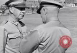 Image of Major General Henry C Pratt receiving Distinguished Service Medal San Juan Puerto Rico, 1943, second 44 stock footage video 65675030840
