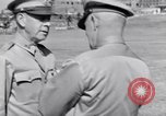 Image of Major General Henry C Pratt receiving Distinguished Service Medal San Juan Puerto Rico, 1943, second 45 stock footage video 65675030840