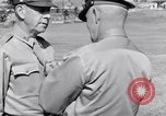 Image of Major General Henry C Pratt receiving Distinguished Service Medal San Juan Puerto Rico, 1943, second 48 stock footage video 65675030840