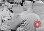 Image of Major General Henry C Pratt receiving Distinguished Service Medal San Juan Puerto Rico, 1943, second 49 stock footage video 65675030840