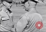 Image of Major General Henry C Pratt receiving Distinguished Service Medal San Juan Puerto Rico, 1943, second 51 stock footage video 65675030840