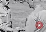 Image of Major General Henry C Pratt receiving Distinguished Service Medal San Juan Puerto Rico, 1943, second 54 stock footage video 65675030840