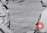 Image of Major General Henry C Pratt receiving Distinguished Service Medal San Juan Puerto Rico, 1943, second 55 stock footage video 65675030840