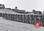 Image of Major General Henry C Pratt receiving Distinguished Service Medal San Juan Puerto Rico, 1943, second 58 stock footage video 65675030840