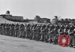 Image of Major General Henry C Pratt receiving Distinguished Service Medal San Juan Puerto Rico, 1943, second 60 stock footage video 65675030840