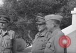 Image of Field Marshal Jan Christian Smuts Tunis Tunisia, 1944, second 20 stock footage video 65675030845