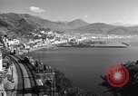 Image of anti-aircraft gun Salerno Italy, 1943, second 25 stock footage video 65675030864