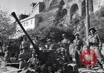 Image of anti-aircraft gun Salerno Italy, 1943, second 57 stock footage video 65675030864