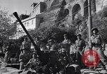 Image of anti-aircraft gun Salerno Italy, 1943, second 58 stock footage video 65675030864