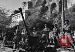 Image of anti-aircraft gun Salerno Italy, 1943, second 62 stock footage video 65675030864