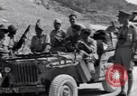 Image of British and US Army meet in Italy Agropoli Italy, 1943, second 26 stock footage video 65675030879
