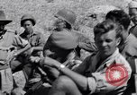 Image of British and US Army meet in Italy Agropoli Italy, 1943, second 32 stock footage video 65675030879