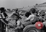 Image of British and US Army meet in Italy Agropoli Italy, 1943, second 33 stock footage video 65675030879