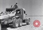 Image of British tank retriever North Africa, 1943, second 20 stock footage video 65675030882