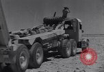 Image of British tank retriever North Africa, 1943, second 32 stock footage video 65675030882