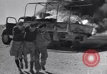 Image of Burning British vehicle North Africa, 1943, second 5 stock footage video 65675030883