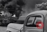 Image of Burning British vehicle North Africa, 1943, second 22 stock footage video 65675030883