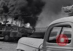 Image of Burning British vehicle North Africa, 1943, second 23 stock footage video 65675030883