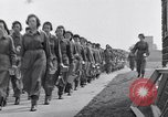 Image of Women's Army Corps WAC Stafford England United Kingdom, 1943, second 4 stock footage video 65675030884
