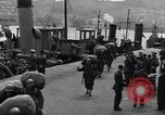 Image of American 5th Division infantry Gourock Scotland, 1943, second 13 stock footage video 65675030886