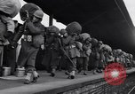 Image of American 5th Division infantry Gourock Scotland, 1943, second 19 stock footage video 65675030886