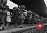 Image of American 5th Division infantry Gourock Scotland, 1943, second 20 stock footage video 65675030886