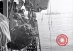 Image of Cruiser Savannah struck by German radio-guided bomb Agropoli Italy, 1943, second 13 stock footage video 65675030902