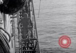 Image of Cruiser Savannah struck by German radio-guided bomb Agropoli Italy, 1943, second 16 stock footage video 65675030902