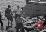 Image of Cruiser Savannah struck by German radio-guided bomb Agropoli Italy, 1943, second 24 stock footage video 65675030902
